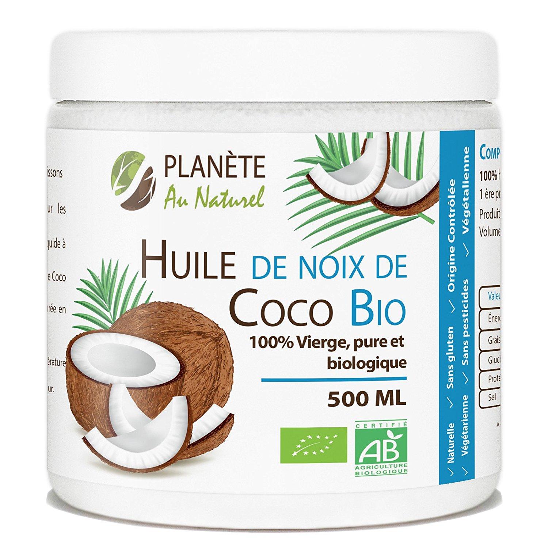 Huile de coco bio 500 ml