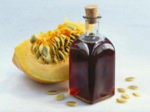 l'huile de graine de citrouille