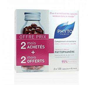 complément vitamine phytophanère cheveux