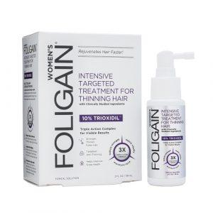 foligain lotion trioxidil femme