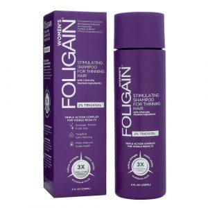 foligain shampoing trioxidil 2% femme